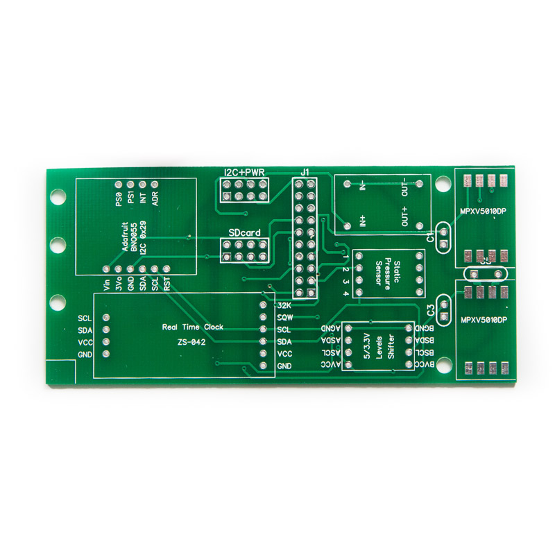 PCB for EFIS Sensor Board